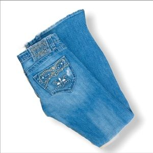 Kan Can Distressed Jeans Pocket Embroidery 3